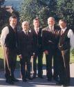 Obmänner und Chorleiter