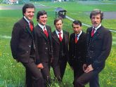 Das Quintett des MGV Weißbriach 1877