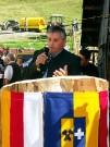 Nachbarschaftsobmann Georg Hubmann erzählt von der Almrevitalisierung