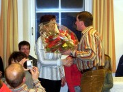 Franz dankt der Gattin