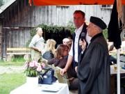 Herr Pfarrer Mooshammer mit dem Almwirt