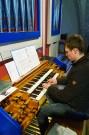 Organist Franz Hubmann